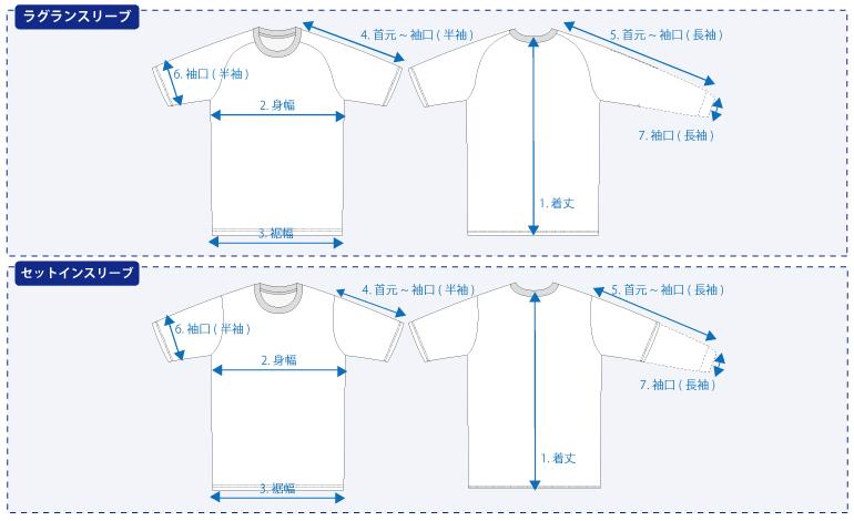 ユニフォームサイズ表
