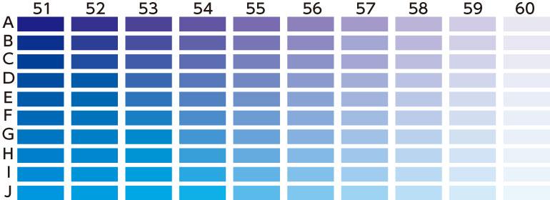ブルー・紫系