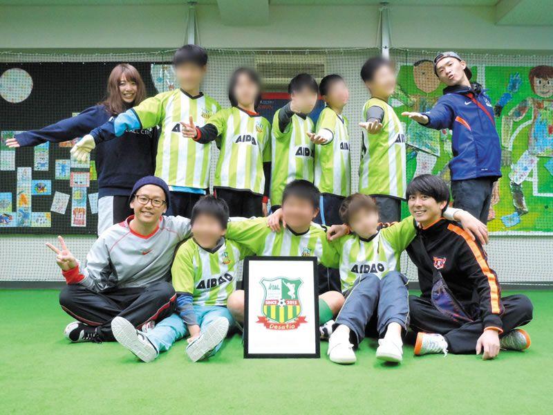 サッカーチーム「AIDAC」