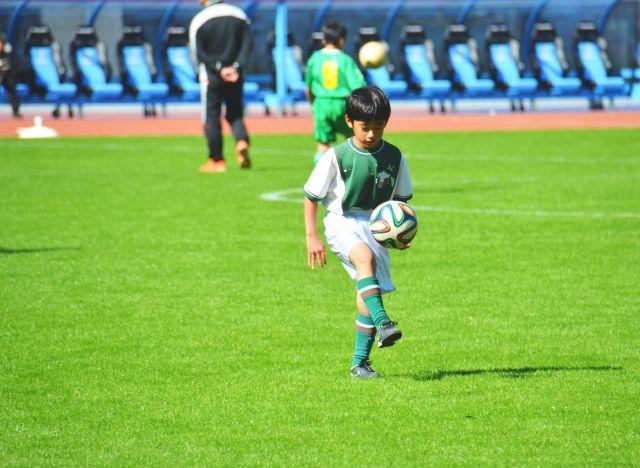 少年サッカー講座:ユニフォーム作成のゴレイロ