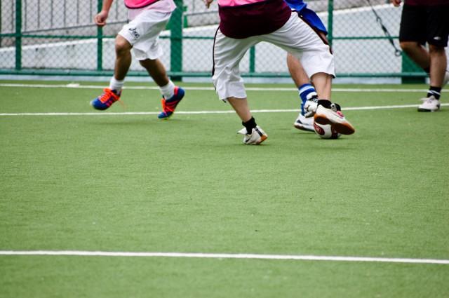 サッカーポジションニング